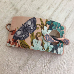 Moth & Fiddleheads Bracelet Toggle