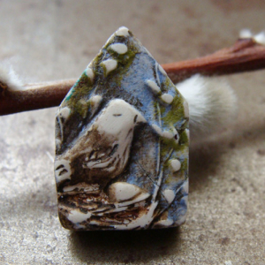 Bird House Bead