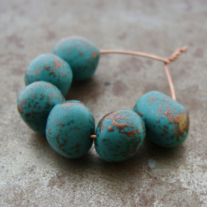 Speckled Emerald Bead Wobbles