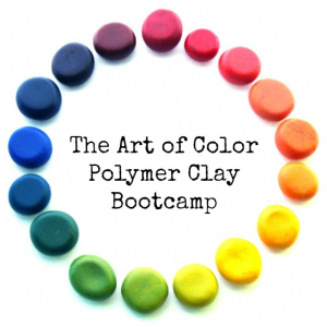 The Art of Color Polymer Clay Bootcamp - Online Workshop