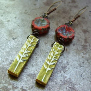 Growing Garden Earring