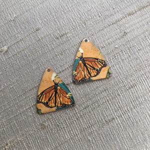 Monarch Earring Charms