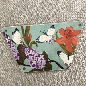 Lilac Geo Pendant