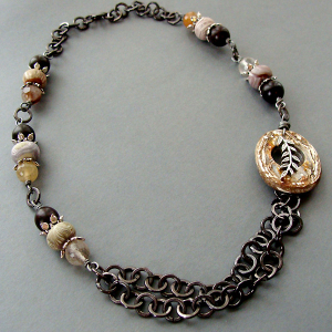 Two Paths Necklace
