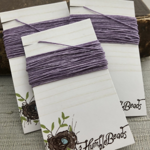 4 Ply Irish Waxed Linen - Lavender