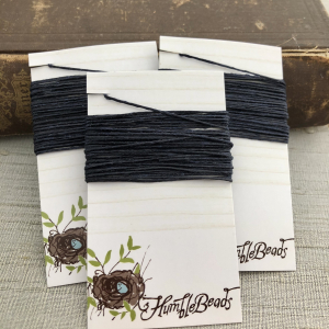4 Ply Irish Waxed Linen - Navy