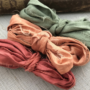 Sari Silk Trio - Coral Mix