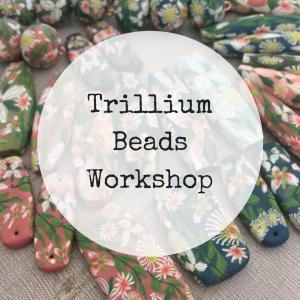 Trillium Flower Beads Online Workshop